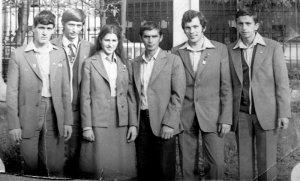 Город-Герой Минск. Рязанская делегация. Девятый Всесоюзный слет (этап) - сентябрь 1980 года. К этому времени по официальным данным во Всесоюзном походе принимали участие 58 миллионов человек.