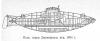 Подводная лодка Джевецкого, образца 1884 г.