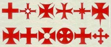 крестов картинки тамплиерских