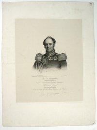 Портрет графа, генерал-лейтенанта Александра Христофоровича Бенкендорфа