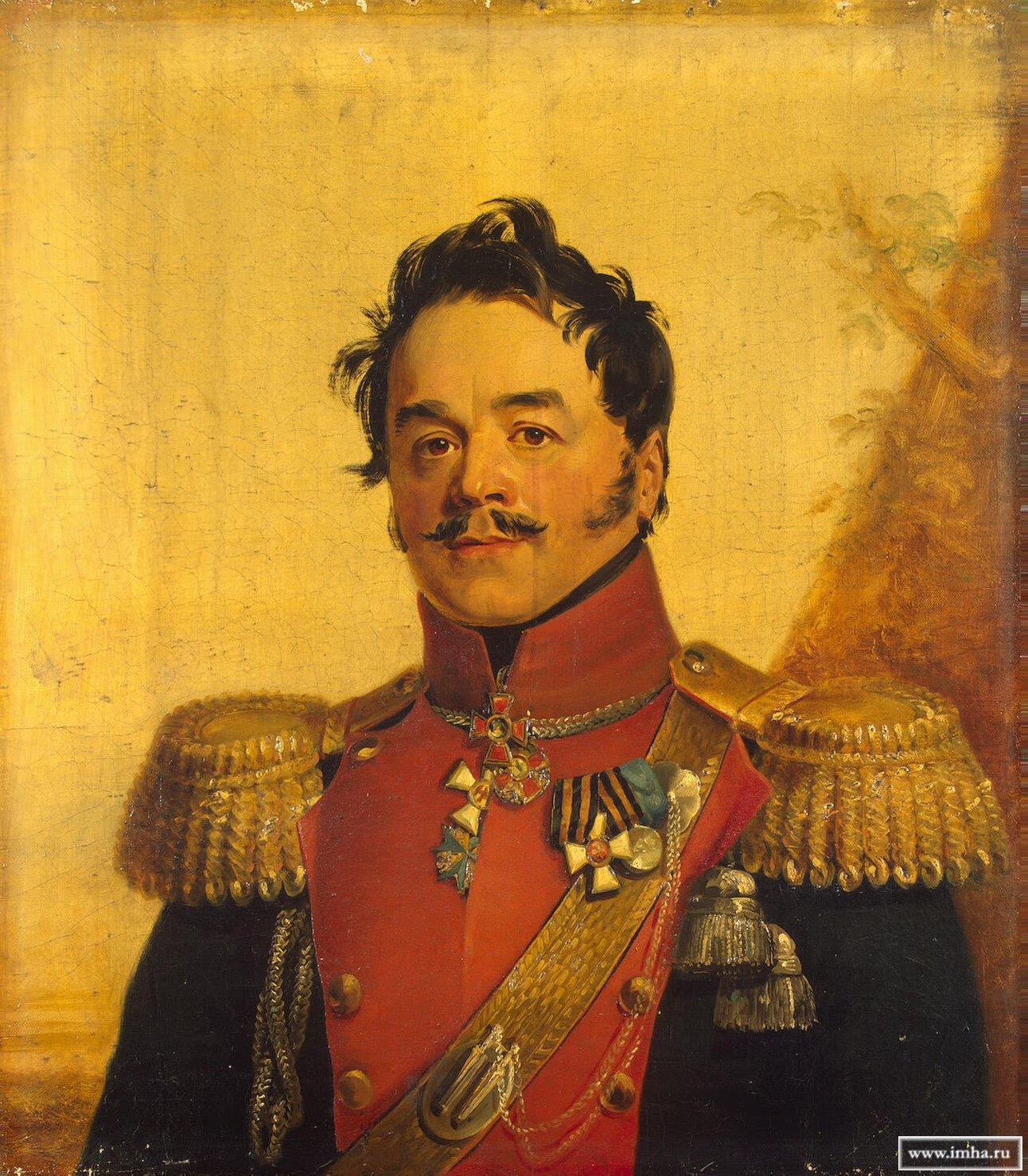 кн. ЩЕРБАТОВ (Щербатов 2-й) Николай Григорьевич, князь, генерал-майор. Г. Доу. ГЭ.