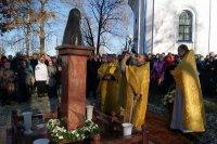 Памятник Патриарху Алексию II в Сортавале