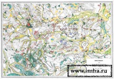 Схема сражения при Баутцене 8-9/20-21 мая 1813 года