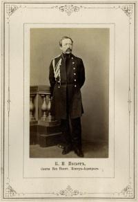 Контр-адмирал Константин Николаевич Посьет. 1864-1865 гг.
