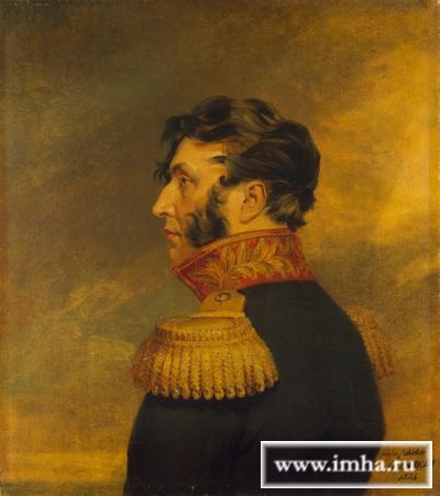 Портрет генерал-майора Левина Дмитрия Андреевича. Dawe George. ГЭ.