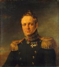 Портрет Головина 2-го Евгения Александровича. Dawe George. ГЭ