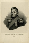 Гейден Логин Петрович / L. Bartelinsky. - 1830-е гг. - 154х160; 297х203 мм: Литография.