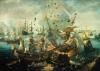 Взрыв испанского флагманского корабля 25 апреля 1607 г.