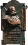 Модель мемориальной доски генералу Ренненкампфу
