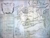 План сражения при Ставучанах в Молдавии между русскими войсками под командованием фельдмаршала графа Б.Х.Миниха и турецко-татарскими войсками под командованием Вели-паши и хана Ислам-гирея. 17 августа 1739 года.