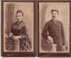 1882-83гг. Свадебные фотографии Марии Николаевны и Василия Александровича Качковых.