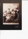 Кавказ. Сидит слева - Константин, стоит справа - Вера. Рядом с Верой, Валентин Иванович Качков.