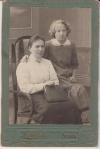Качкова Мария Николаевна с дочерью Настей. Примерно 1910-й год.