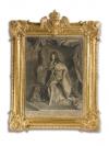 Людовик XIV, гравер Pierre Drevet (1664-1738)