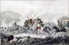 Пленение генерала Вандама в сражении при Кульме 18/30 августа 1813 года. К.Г. Раль по оригиналу И.А. Клейна. 1810-е.