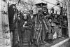Заключенные концлагеря Освенцим Фото: РИА Новости