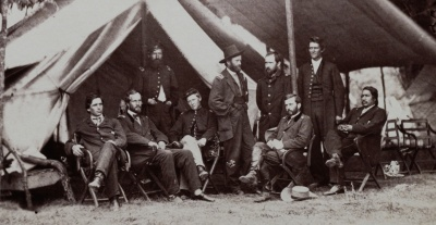In 1863, after leading a Union Army to victory at Vicksburg, Grant caught President Lincoln's attention.