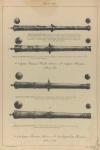 6 фунт. Пищаль Волк, 1679-го г. и 2 фунт. Пищаль, 1679-го года. 2-х фунт. Пищаль, 1680-го г. и 2-х фунтовая Пищаль, 1681-го года