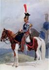 Трубач Житомирского уланского полка. Рисунок с натуры И.А. Клейна. 1815 г.