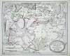 Карта княжества Вальдек в 1794 г.