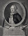 Портрет академика Якоба Штелина. Россия, Санкт-Петербург, 1762