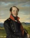Портрет декабриста Н.И. Лорера. Неизвестный художник. 40-е гг. ХIХ в.