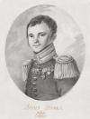 Портрет Ф.Н. Глинки. Россия, 1821 г. Автор рисунка: Беггров К.П. 1799-1875