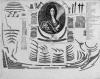 Портрет Ивана Михайловича Головина. Россия, Начало XVIII в. Гравер: Зубов А.Ф. 1682/1683-1751