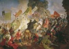Карл Брюллов. Осада Пскова польским королём Стефаном Баторием в 1581 году. 1839-1843