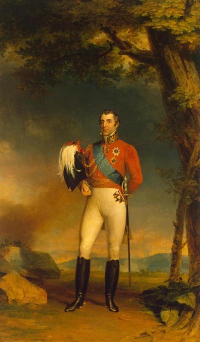 Портрет герцога Веллингтона (1769-1852). Доу, Джордж. 1781-1829. 1829 г
