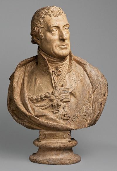 Портрет А. Уэлси, первого герцога Веллингтона. Италия, 1814 г. Скульптор: Турнерелли, Питер. 1774-1839