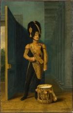 Портрет Василия Трифоновича Акентьева (Акинтьева) (1787— неранее 1831). Доу, Джордж. 1781-1829. Россия, 1828г.