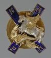 Офицерский знак лейб-гвардии Московского полка Россия, Москва, 1911 г.