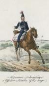 Кавалерийский адъютант польских войск