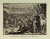 Парфяне побеждают римлян. Германия, первая треть XVII в. Сюита сцен из всемирной истории, начиная с сотворения мира и кончая 1619 годом. Бумага, офорт, 102х140 мм (лист). ГЭ.
