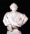 Портрет Петра Ивановича Шувалова. Жилле, Николя-Франсуа. 1709-1791. Франция, XVIII в. Мрамор. 76х79 см