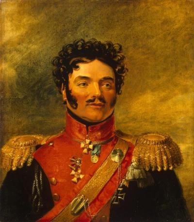 Портрет Иосифа Корнелиевича Орурка (1762-1849). Доу, Джордж. 1781-1829. Не позднее 1825 г. Холст, масло, 70х62,5 см.