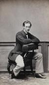 Портрет принца Николая Максимилиановича Лейхтенбергского. Россия, 1860-е гг. Неизвестный фотограф, фотография: альбуминовый отпечаток, 9,5х5,5; 10,5х6 см. ГЭ