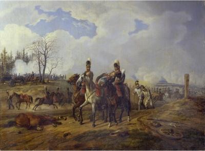 Битва при Абенсберге 20 апреля 1809 года. 1826