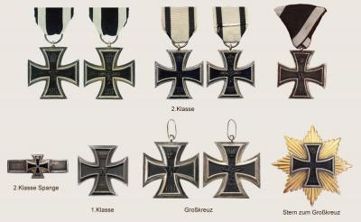 Прусский железный крест королевства Пруссии