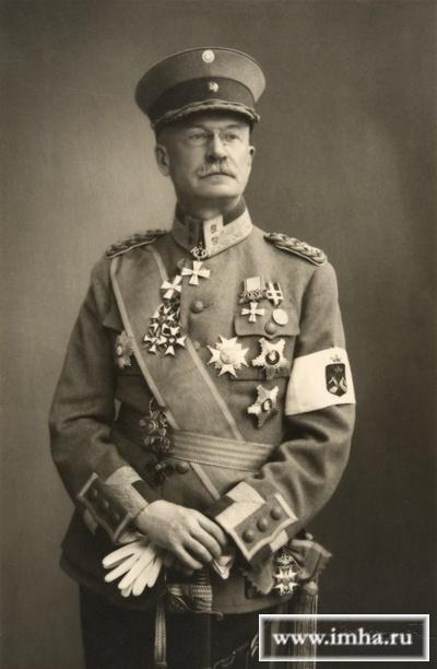 Подполковник Эрнст Бертольд Лёфстрём, инспектор пехоты. 1925 - 1928