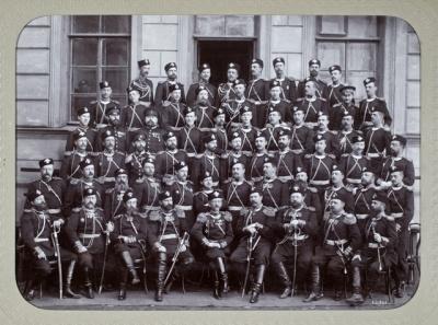 1892. Групповой снимок Лейб-гвардии Семеновского полка.