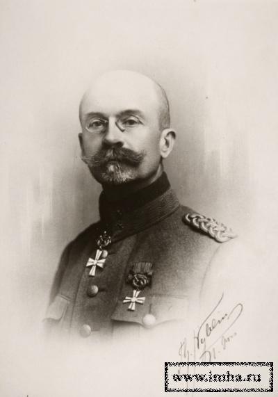 Генерал Левстрем Эрнест Лаврентьевич в 1919 г.
