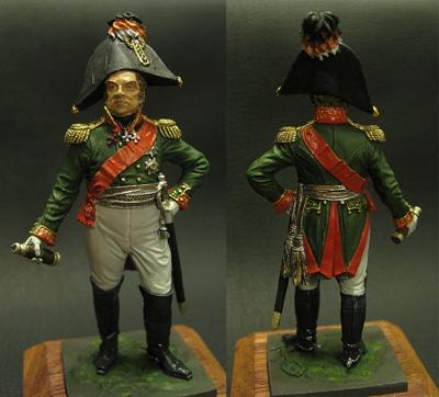 «Napoleonic Miniatures» Figures: General D.S.Dokhturov, 1812