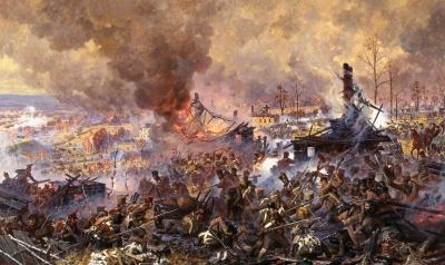 Сражение при Малоярославце.