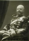 Генерал-майор А.М. Драгомиров (1868 - 1955), сын знаменитого военного теоретика М.И. Драгомирова, в мундире 9-го гусарского Киевского полка, 1912 г.