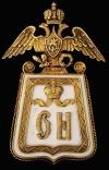 Знак 3-го гусарского Елисзаветградского Ее Императорского Высочества Великой Княжны Ольги Николаевны полка.