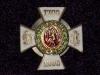Знак 61-го пехотного Владимирского полка.  Утв. 20.05.1909