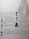 Страницы из альбома Фарнезского полка об его истории, наградах и о наиболее отличившихся офицерах