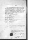 Список офицеров, с фамилиями офицеров, членов семей.Окончательный список с учетом заверенный генералом Жуковым.
